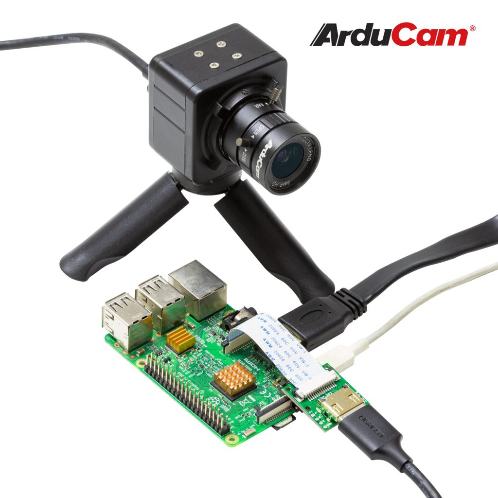 B0240 arducam imx477 raspberry pi high quality camera case housing