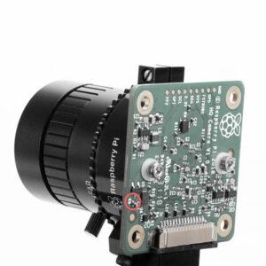raspberry pi high quality camera must remove a resistor