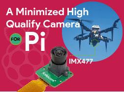A Minimized High Qualify Camera for raspberry pi