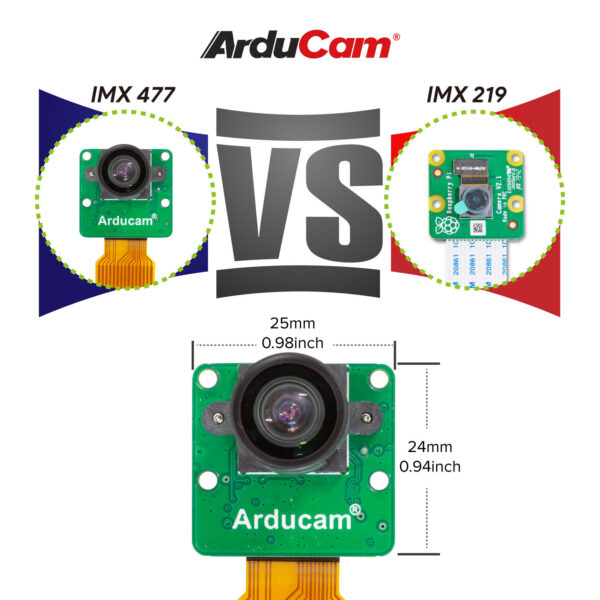 Arducam IMX477 MINI Camera Pi B0262 6