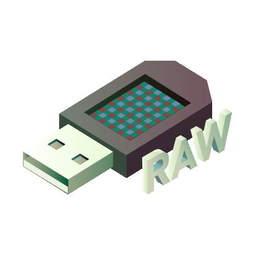 raw data in usb 1