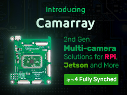 Introducing Camarray: Arducam's New Solution to Multiple Cameras on Embedded Systems and Edge Devices for 2021