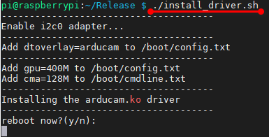 Install the driver1