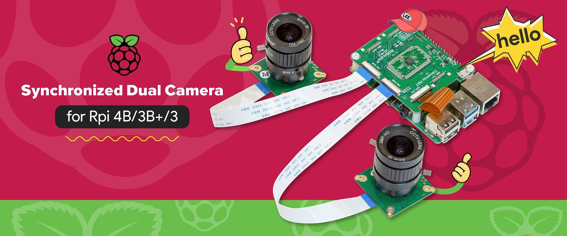 arducam synchronized stereo camera hat 12mp imx477 lee jackson