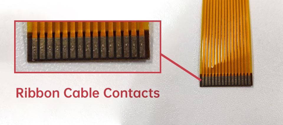 camera ribbon cable contacts