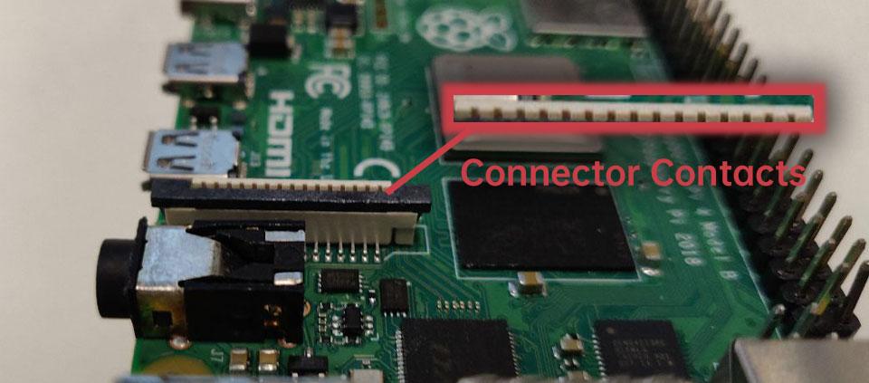 metal contacts camera connector 2