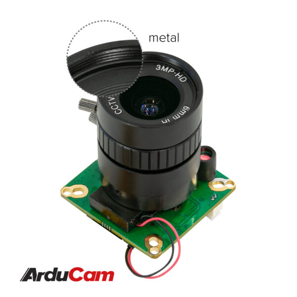 Arducam High Quality IR CUT Camera for Jetson NanoXavier NX 12.3MP 12.3 Inch IMX477 HQ Camera Module with 6mm CS Lens 不74 3