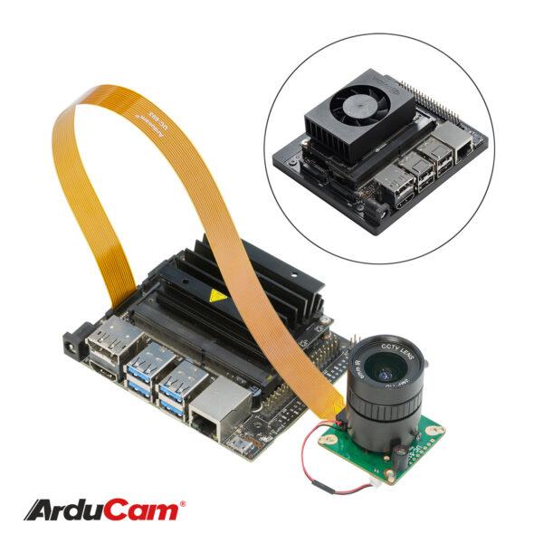 Arducam High Quality IR CUT Camera for Jetson NanoXavier NX 12.3MP 12.3 Inch IMX477 HQ Camera Module with 6mm CS Lens 不74 4