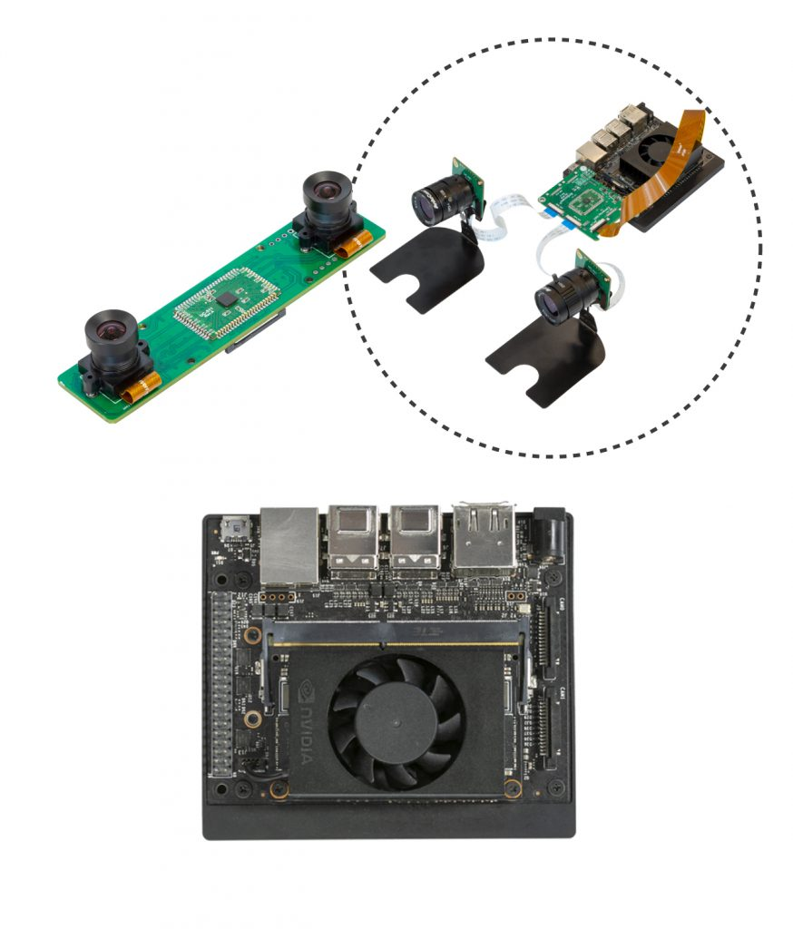 Jetson Xavier NX Dual Camera depth camera bundle