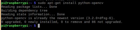 install Python Dependency libraries imx477 b0272