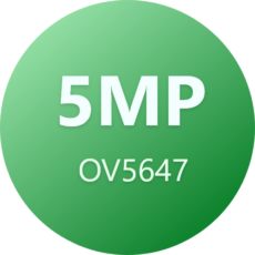 5MP OV5647 Cameras