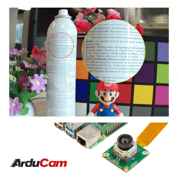 raspberry pi high quality camera 12mp imx477 motorized focus autofocus clear sharp image