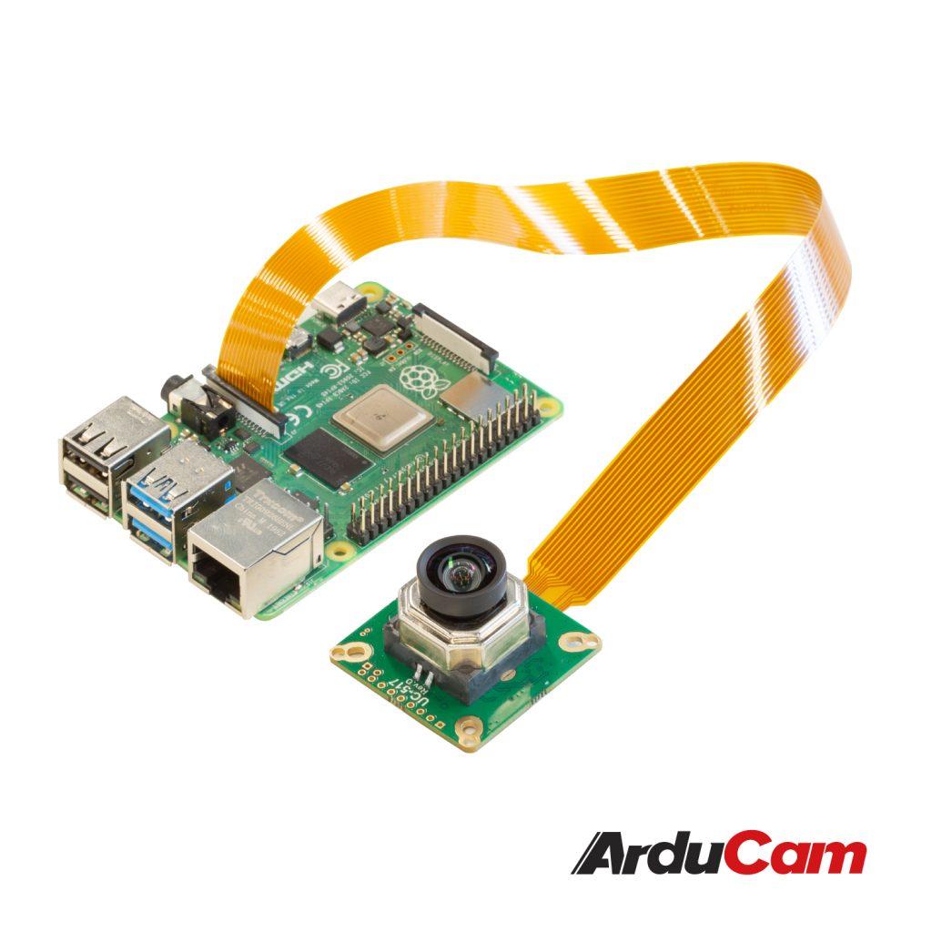 raspberry pi high quality camera 12mp imx477 motorized focus autofocus connection
