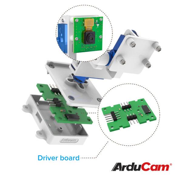 Arducam Camera Pan Tilt Platform Raspberry Pi B0283 2