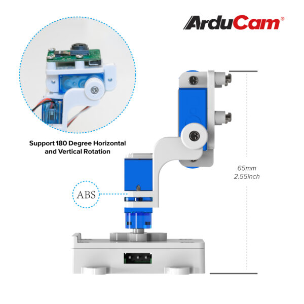 Arducam Camera Pan Tilt Platform Raspberry Pi B0283 4