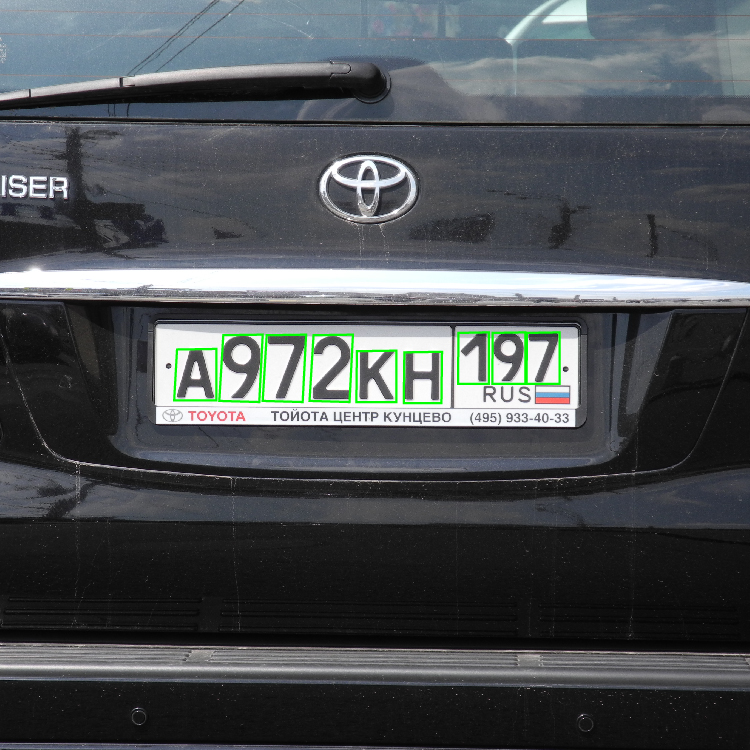 license plate detection