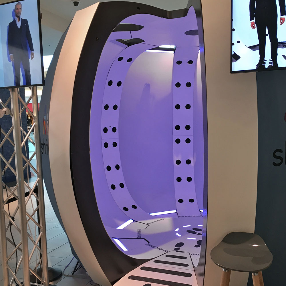 3d scanning photo booth