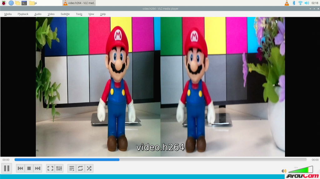 8MP stereo camera save a video1