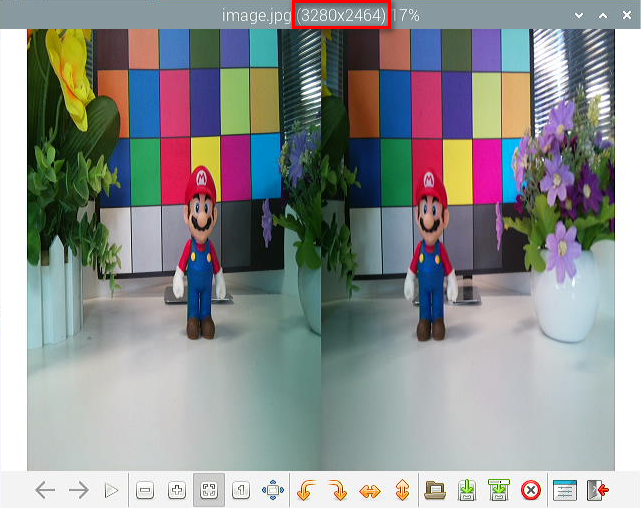 8MP stereo camera save an image2