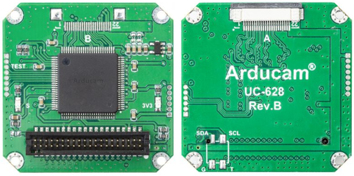 Arducam MIPI Adapter Board for USB3 Camera Shield(UC 628 Rev.B)