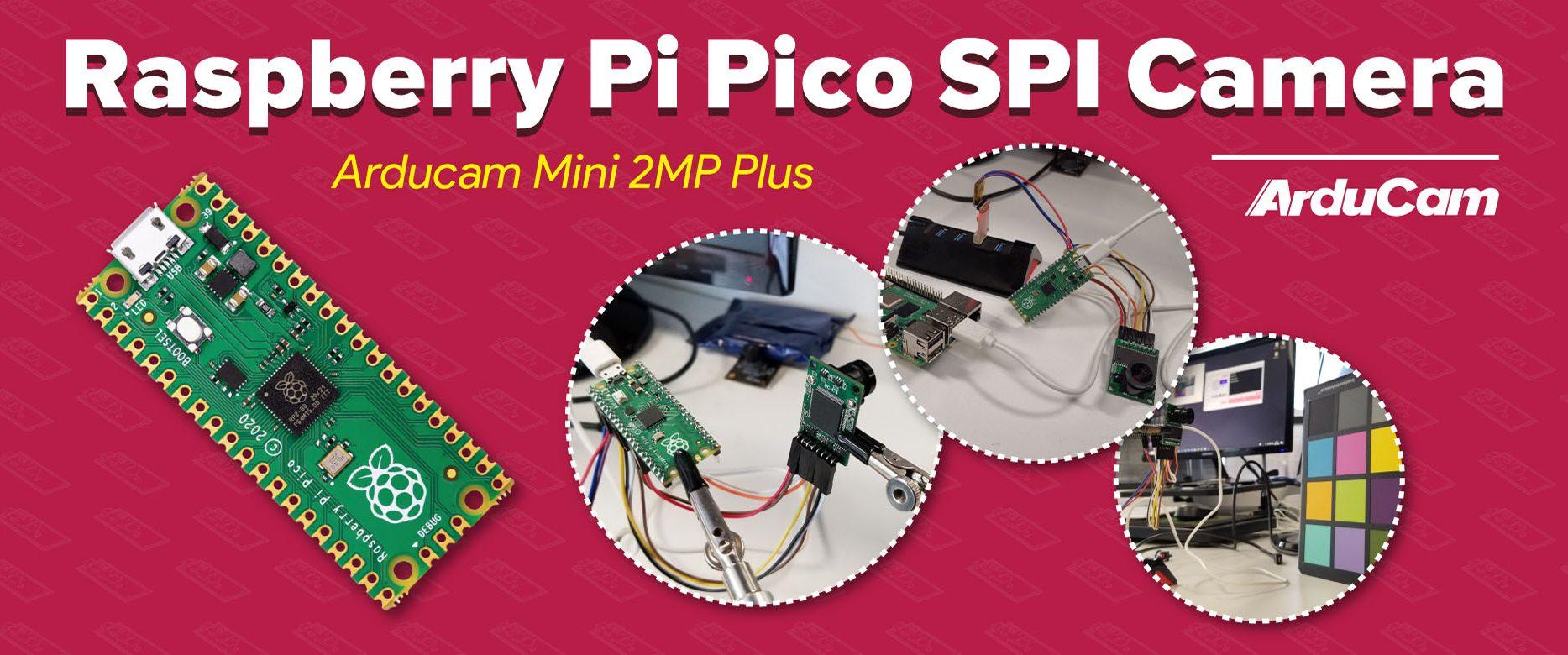 raspberry pi pico camera arducam mini
