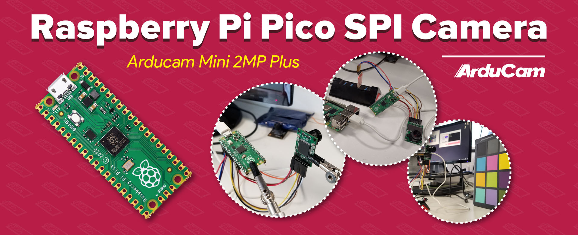 raspberry pi pico camera arducam mini