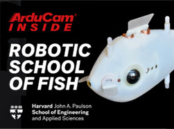 robot fish swarm with arducam multiplexer inside blog thumbnail
