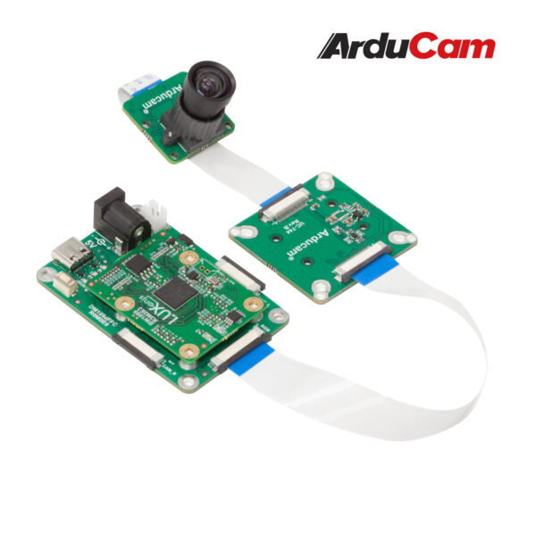 Arducam 12MP IMX477 MINI High Quality Camera with M12 mount lens and adapter board for DepthAI B0300 2
