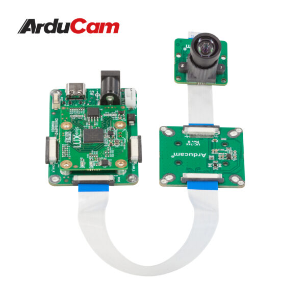 Arducam 12MP IMX477 MINI High Quality Camera with M12 mount lens and adapter board for DepthAI B0300 3
