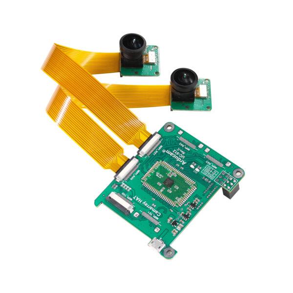 Arducam 8MP IM219 Synchronized Stereo Camera Bundle Kit B0298R3