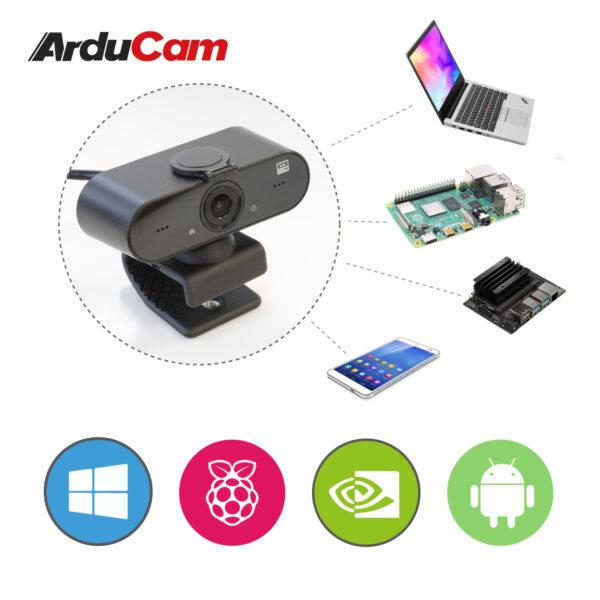 B0294 arducam webcam microphone os compatiblity