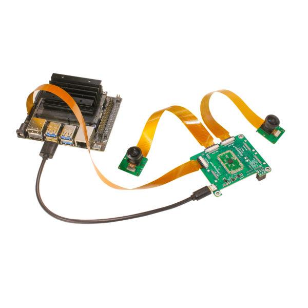 Arducam 8MP IM219 Synchronized Stereo Camera Bundle Kit B0298N 4