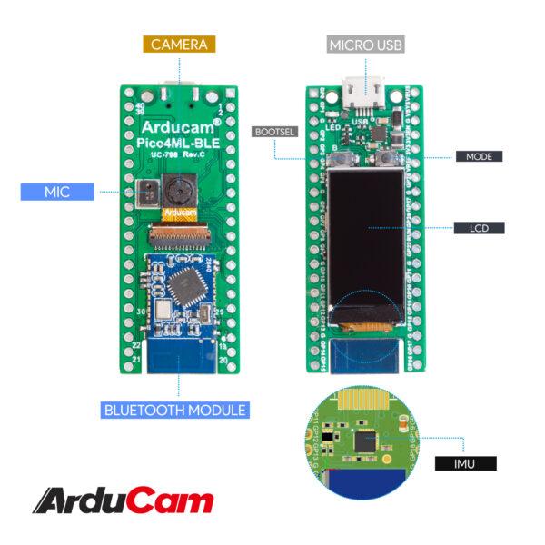 Arducam Pico4ML TinyML Dev Kit B0330 5