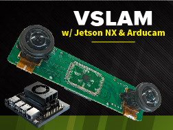 V SLAM with system with Jetson NX and Arducam Stereo Camera