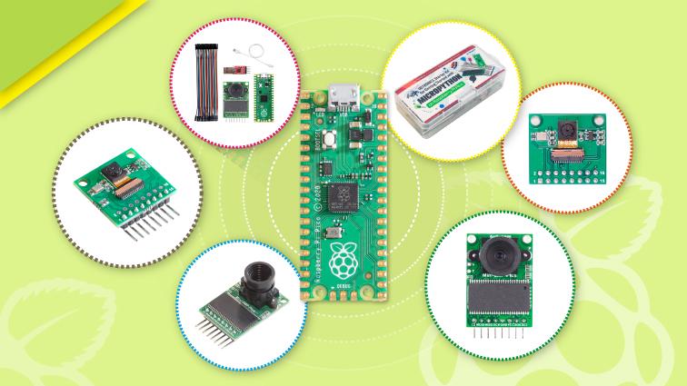 arducams cameras kits for raspberry pi pico