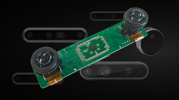 cost effective camera module for building V slam systems