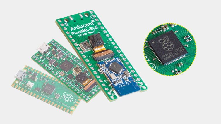 from the official raspberry pi pico to arducam pico4ml ble