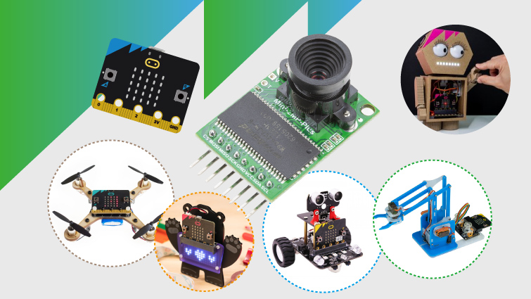 you can use arducam mini to build more advanced microbit camera projects and robots