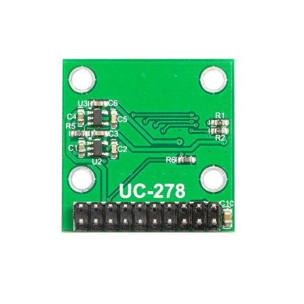 640x480 0.3 mp mega pixel lens ov7675 cmos camera module with adapter board back view 1