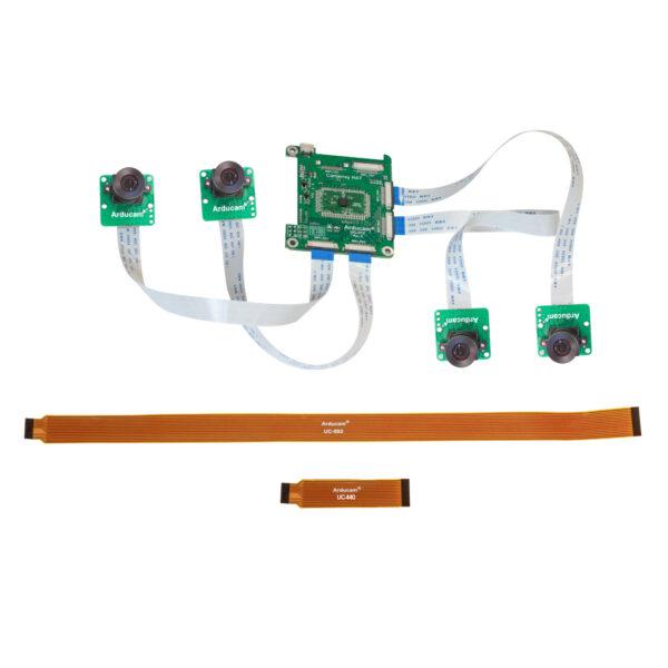 Arducam 1MP 4 Quadrascopic Camera Bundle Kit OV9287 B0331 1