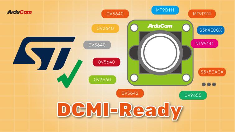 arducam DCMI compatible Parallel camera modules