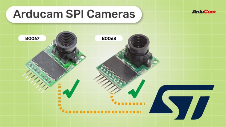 arducam spi camera solutions for stm32 boards that doesnt have DCMI