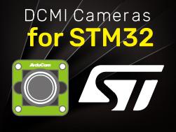 dcmi camera for stm32 cameras
