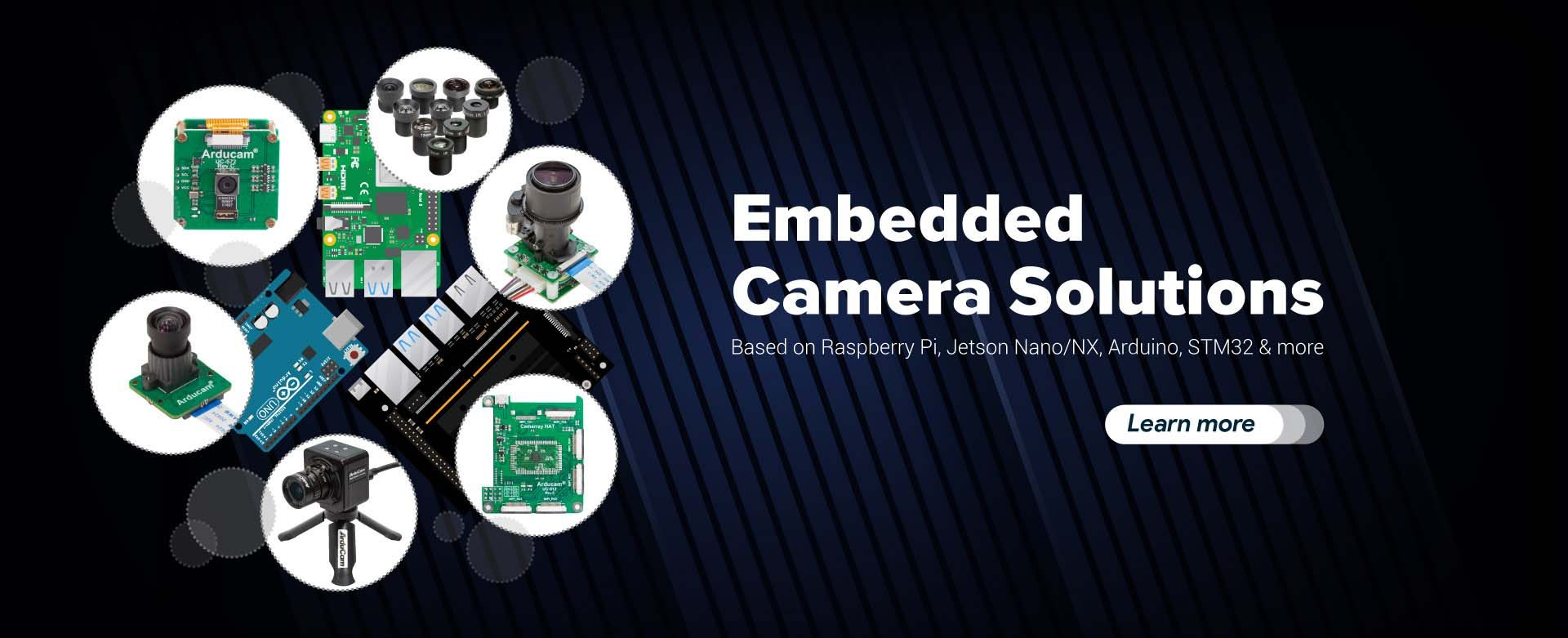 embedded camrera solutions and applications