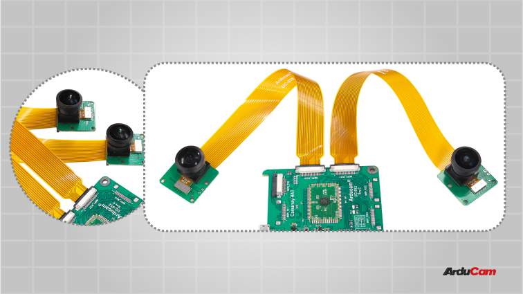 stereo camera module with adjustable baseline 1