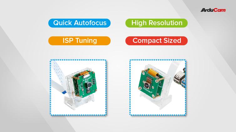 16mp and 21mp high resolution and autofocus cameras for Raspberry Pi