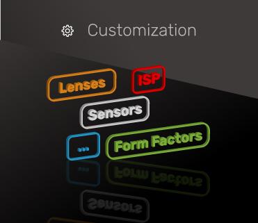 Customization Pi cameras isp tuning