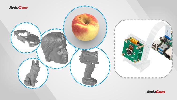 DIY 3D scanners using autofocus camneras and photogrammetry technologies