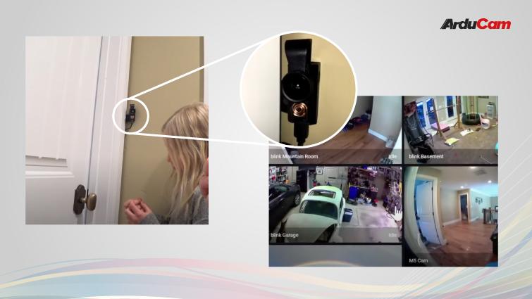 Doorbell Camera with ov2640