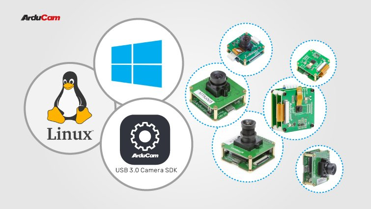 arducam usb 3.0 camera solutions for both linux and windows systems